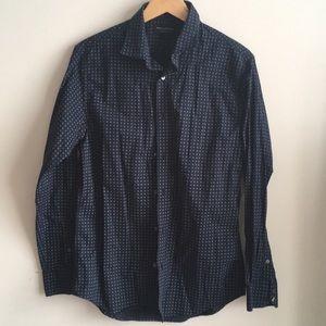 Banana Republic Factory Tailored Slim Fit Shirt